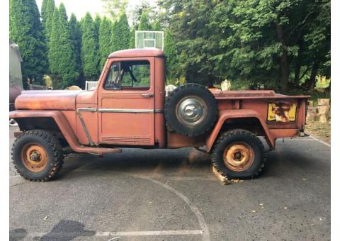 1962 Jeep Willy's Pickup Truck