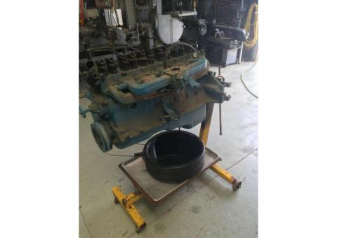 Complete 1967 Chevrolet 250 CI, Inline Six Cylinder for parts or rebuild core.  $250
