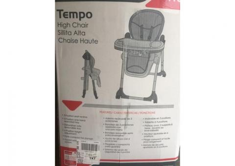 High chair for babies to toddler