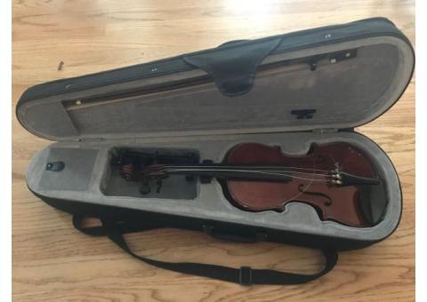 Violins:  1/4, 2/4 and 3/4