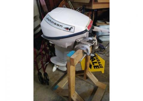 Johnson 9.5HP outboard